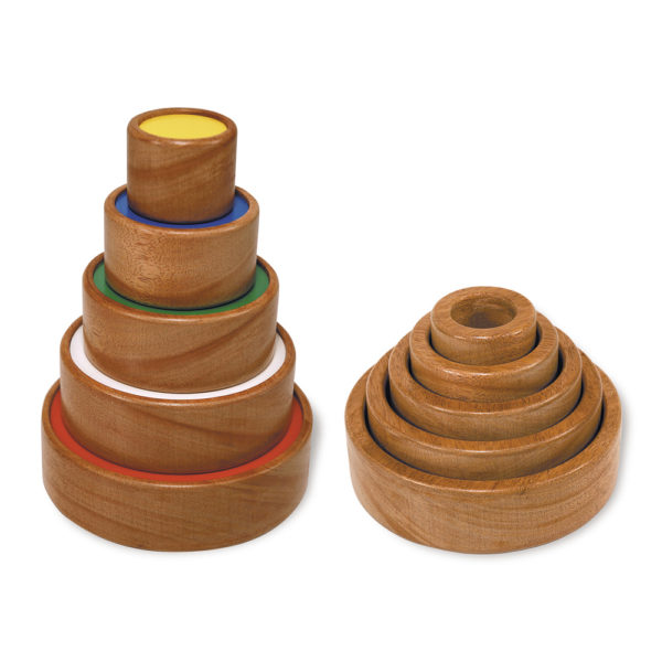 Wooden Circle Tower