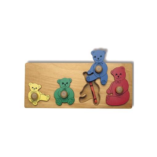 Hide & Seek Teddy Bear Puzzle