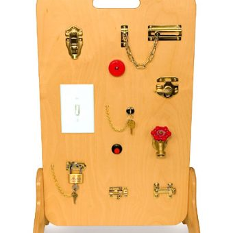 Locks & Latches Activity Board