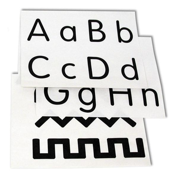 Alphabet-Number-Pattern Worksheets