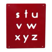 Lower Case Alphabet