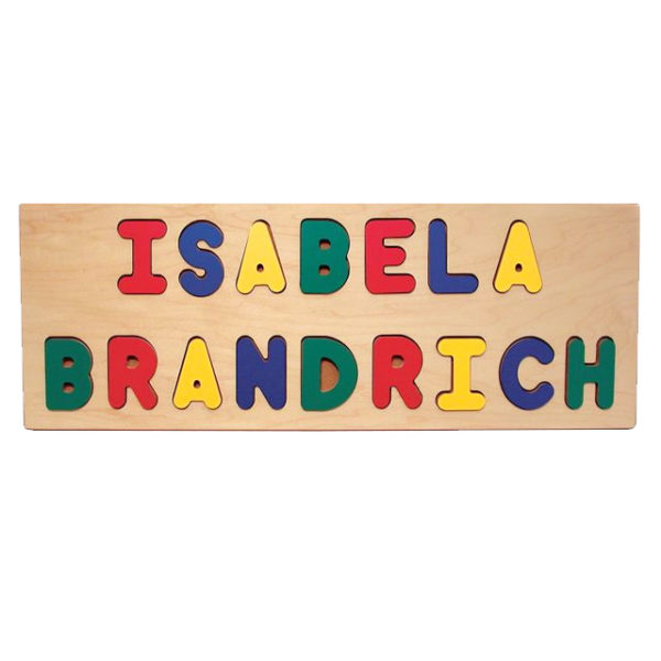 Personalized Name Puzzle - 2 Lines