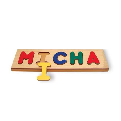 Personalized Name Puzzle - 6 Letter Maximum