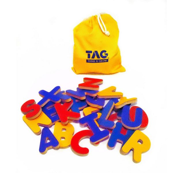 Complete set of letters for I Can Spell Alphabet Puzzle