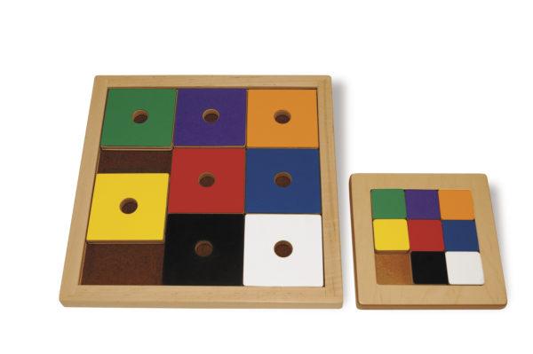 Sliding Squares Logic Puzzle